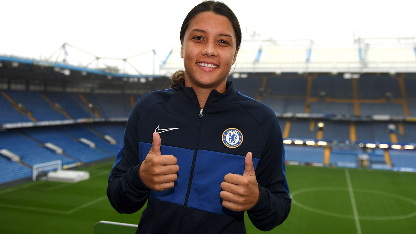Chelsea will improve me, says Matildas superstar Sam Kerr after signing $2 million deal