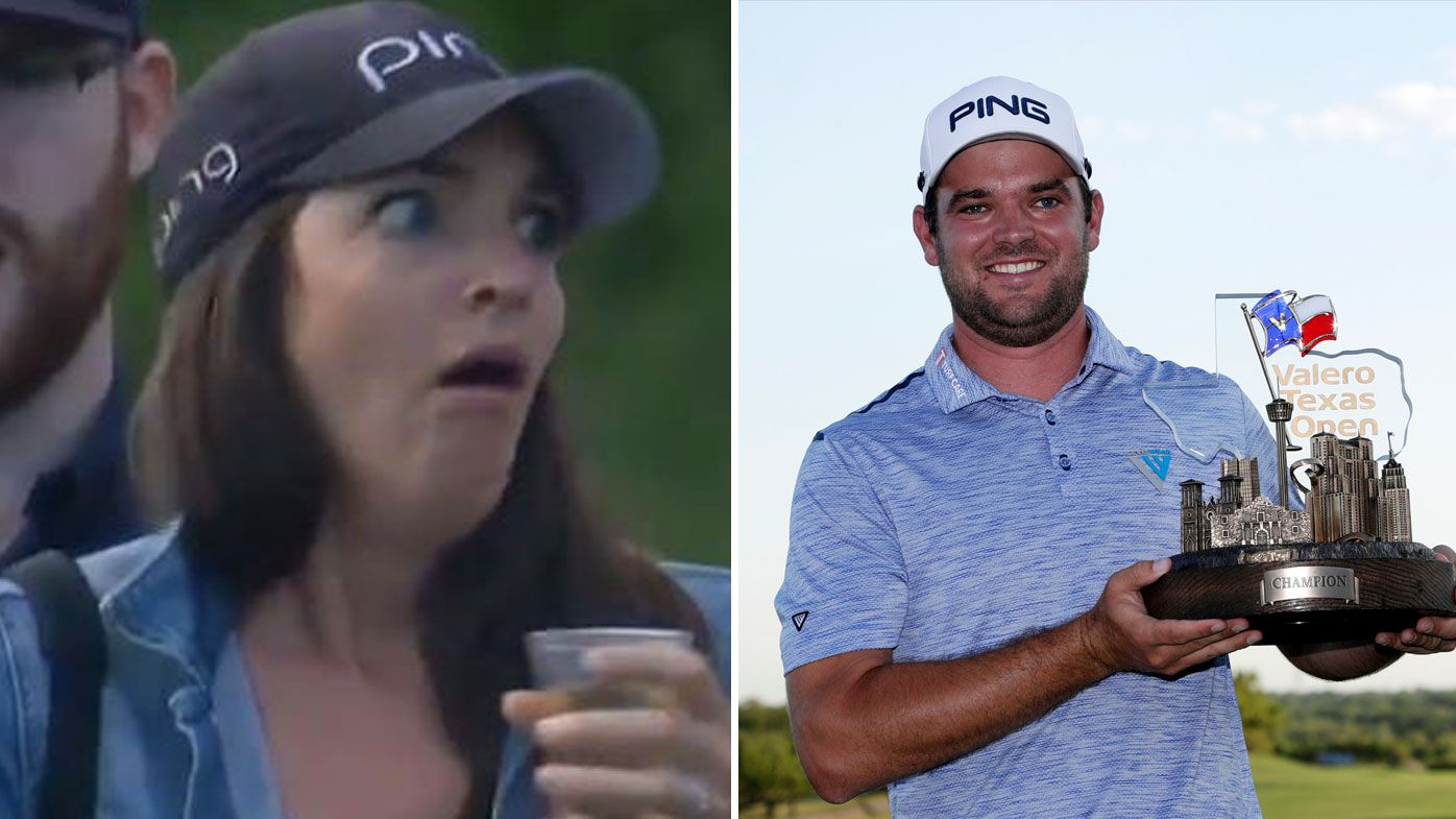 Corey Conners claimed his first PGA Tour victory, although it was a rollercoaster ride for his wife Malory.