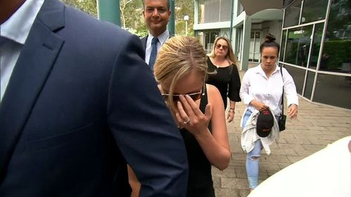 Ms Robinson has been ordered to be assessed for an intensive corrections order. (9NEWS)