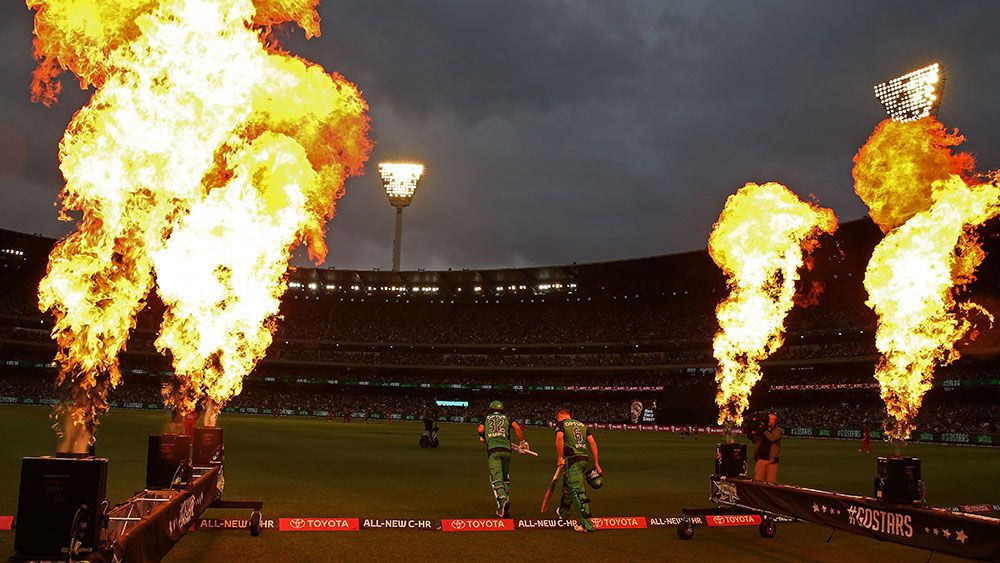A crowd of over 70,000 flocked to the MCG for the Stars-Renegades clash. (Getty)