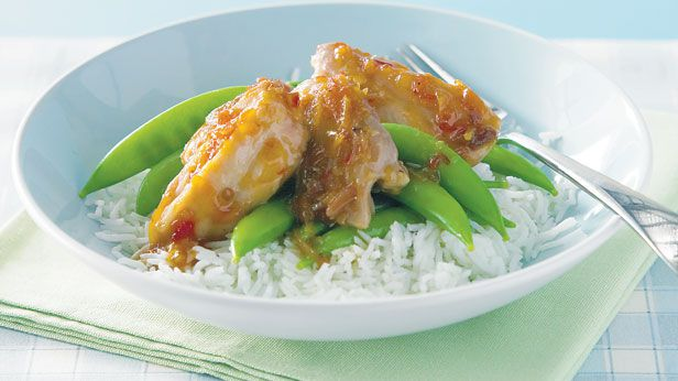 Marmalade and sweet chilli chicken