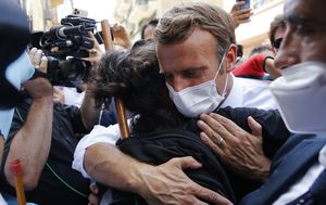 French President Macron calls for 'New political order' after Beirut explosion