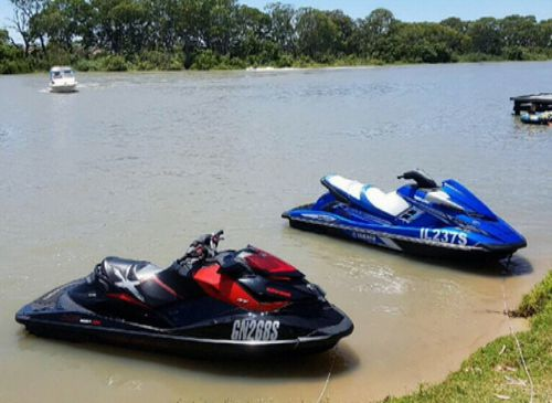 Mr Peel says he'd only owned the jet skis for a week before they were stolen. (9NEWS)