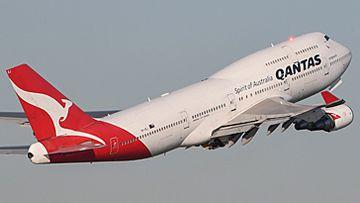 Qantas Boeing 747 flying into retirement (Getty)