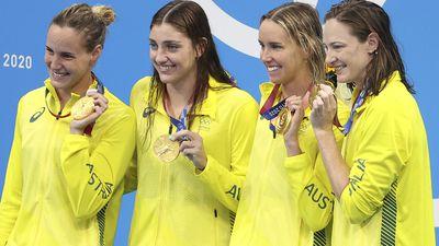 Tokyo 2021: Women's 4x100m freestyle relay