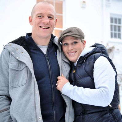 Mike Tindall and Zara Phillips announce their engagement, 2010