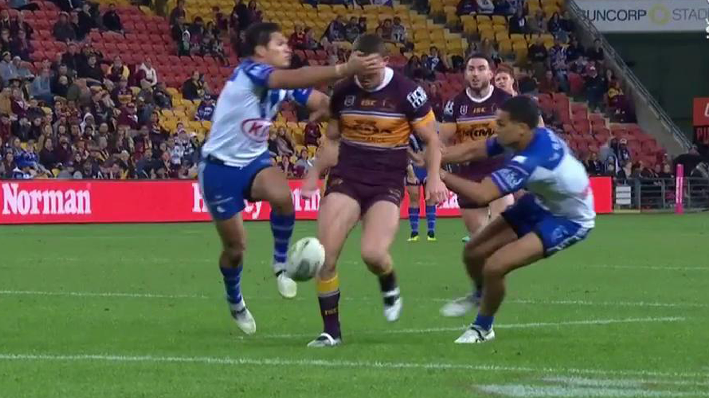 Corey Oates was awarded a penalty try