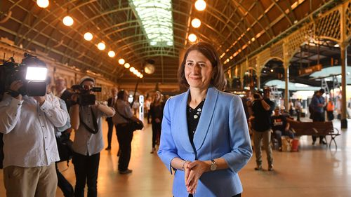NSW Premier Gladys Berejiklian has announced four possible high speed rail options.