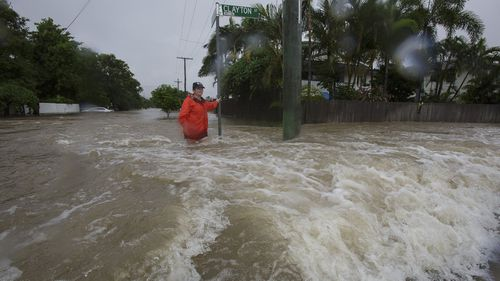 Townsville has been stricken by the worst floods for decades.