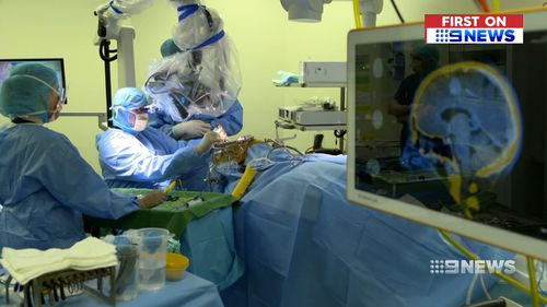 Open-brain surgery can be daunting and carries risks for patients.
