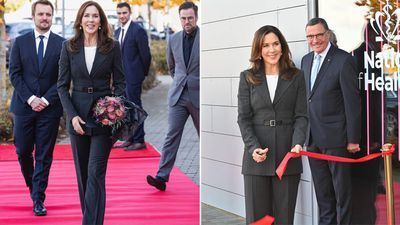 Princess Mary opens health hub, October 2020