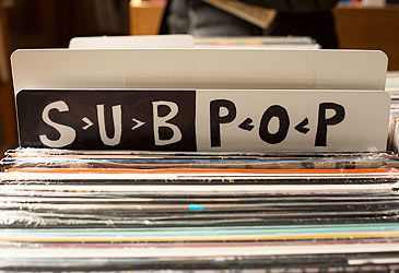 Daily Quiz: Sub Pop Records was founded in which US city in 1986?