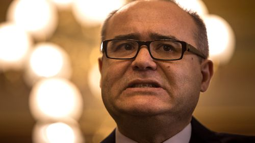 Premier Daniel Andrews on Monday sacked Adem Somyurek (pictured) from cabinet over allegations of branch stacking.
