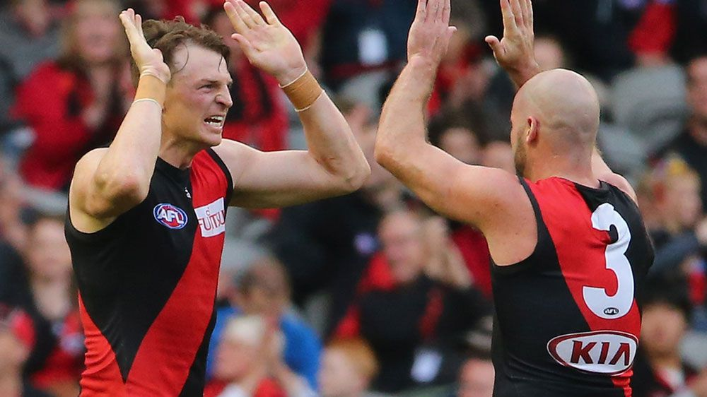 Brendon Goddard (L) with Paul Chapman. (Getty-file)