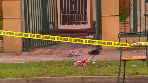 The victim received serious injuries to his abdomen. Image: 9News
