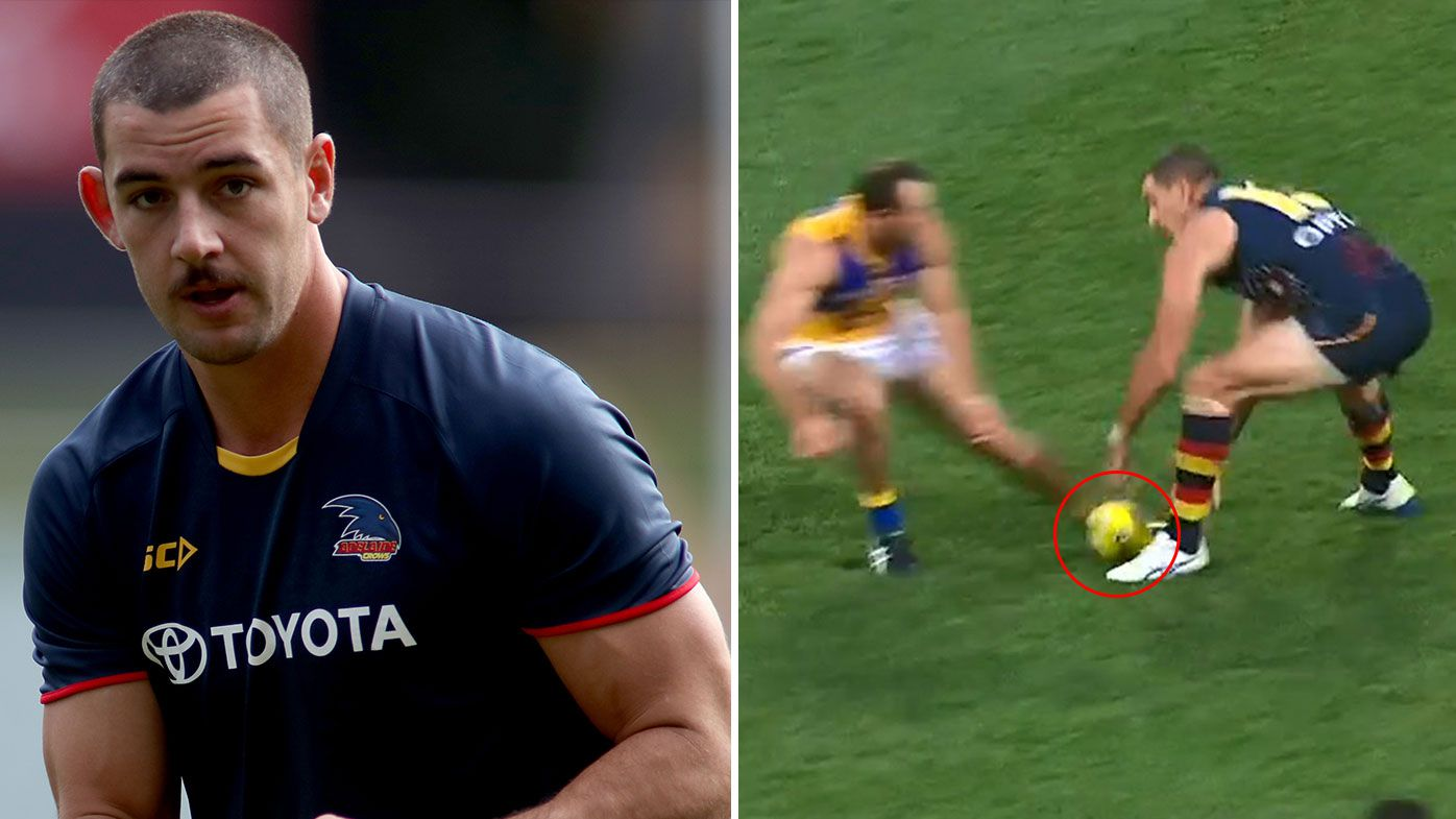 AFL great Nick Riewoldt says Adelaide skipper Taylor Walker could be dropped after 'embarrassing' play against West Coast