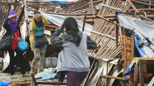 Millions hunker down in Philippine capital
