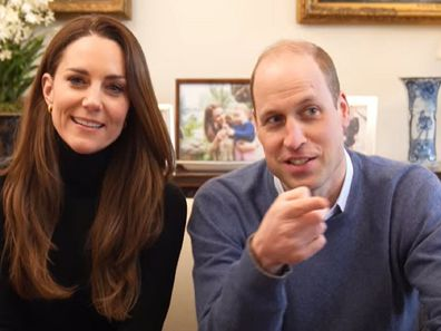 The Duke and Duchess of Cambridge launch their own YouTube channel.