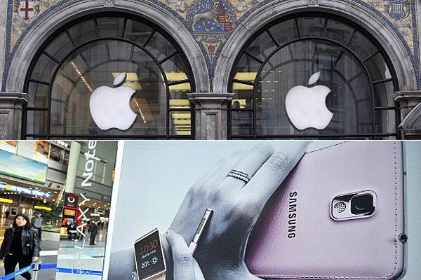 Apple, Samsung