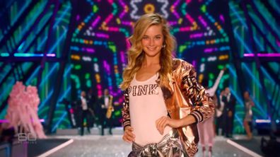 Bridget walked the famous Victoria's Secret runway in 2015 and 2016 but says she felt enormous pressure from the company to be skinny.