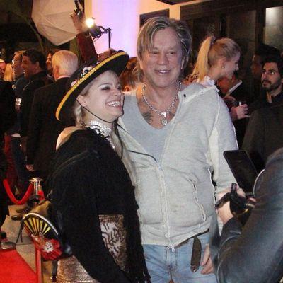 <strong>Mickey Rourke, 66, and Anastassija Makarenko, 32 </strong>