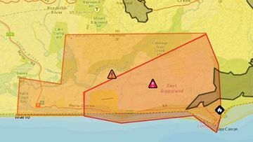 Emergency Fire Warning Cape Conran Vic Emergency Twitter
