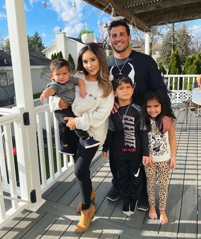 Nicole 'Snooki' Polizzi and her family.
