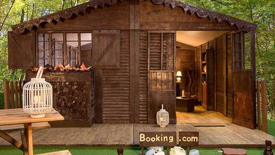 Sleep in a French cottage made from chocolate for just $80 a night