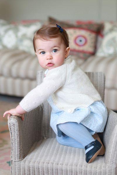 Princess Charlotte, 2 May 2015