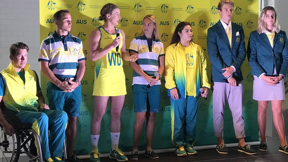 Commonwealth Games: Australia reveal official uniforms