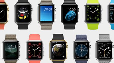 The options for the watch's faces will be endless with customerisable features and graphics to suit users' unique styles and needs.