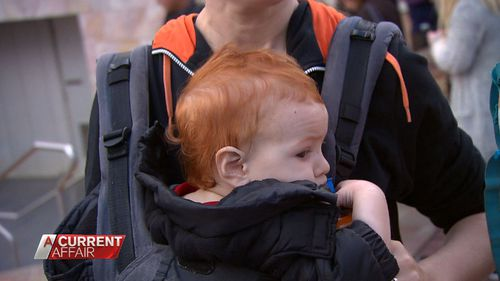 Red-haired babies are in demand.