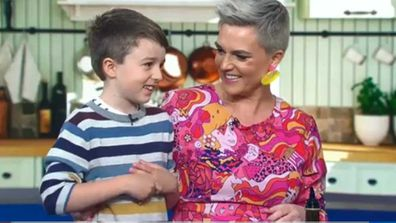 Jane de Graaff and Kase cook on Today Show
