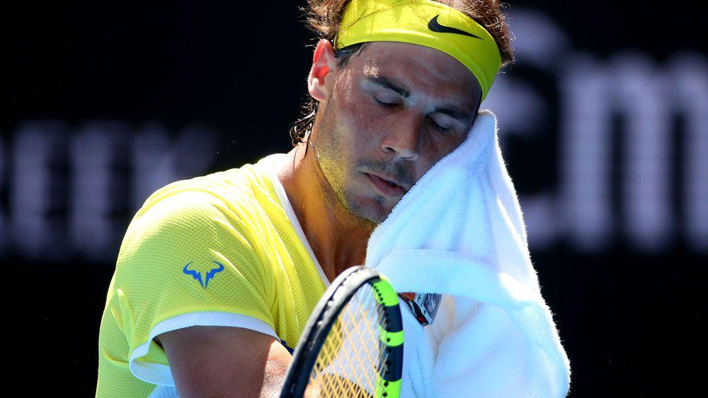 Nadal beaten in first round at Aust Open