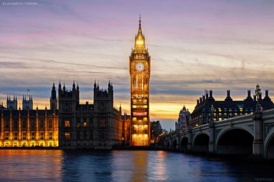 Elizabeth Tower – Westminster, London
