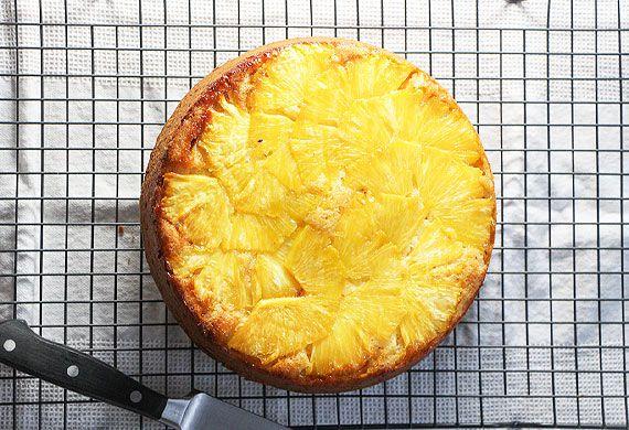 Liliana Battle's upside down pineapple cake