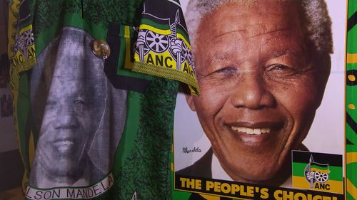 Anti-apartheid icon Nelson Mandela spent almost three decades in a South African prison.