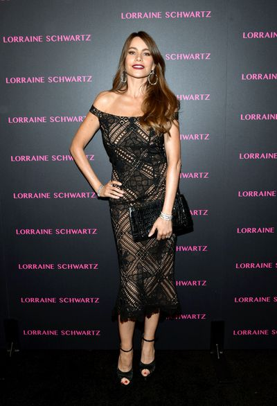 Sofia Vergara at Lorraine Schwartz 'The Eye Bangle' for Against Evil Eye Collection launch in Los Angeles