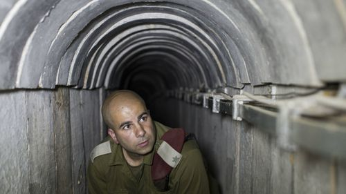 Israel Prime Minister Benjamin Netanyahu says the army will soon finish dealing with tunnels used by Hamas militants. (Getty)