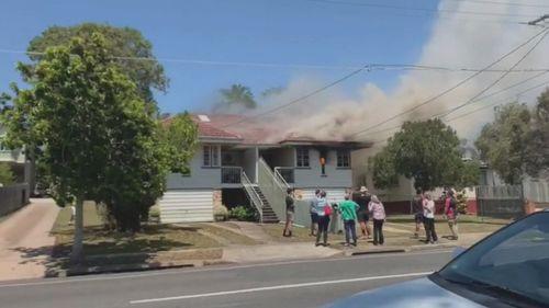 191004 Queensland Brisbane Sandgate house fire elderly man killed