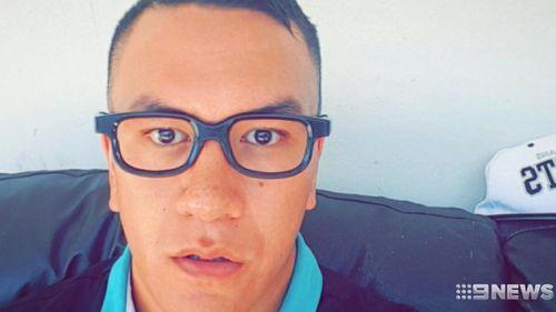 Joshua Butterworth was critically injured. Picture: 9NEWS
