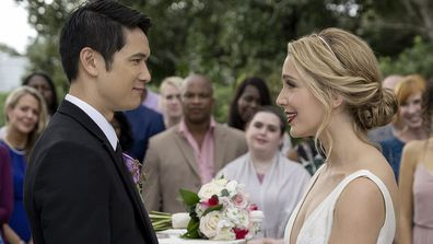 Jessica Rothe and Harry Shum Jr. star in All My Life