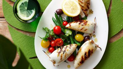 "<a href=""http://kitchen.nine.com.au/2016/05/16/12/57/barbecued-stuffed-calamari"" target=""_top"">Barbecued stuffed calamari<br> </a>"