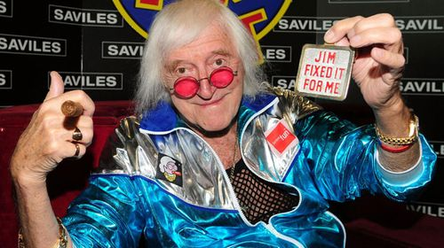 Jimmy Savile in 2009. (AAP)