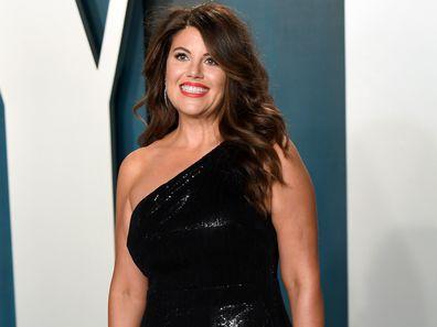 Monica Lewinsky attends the 2020 Vanity Fair Oscar Party