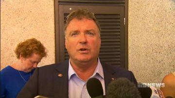 VIDEO: Rod Culleton says Pauline Hanson's behaviour is un-Australian