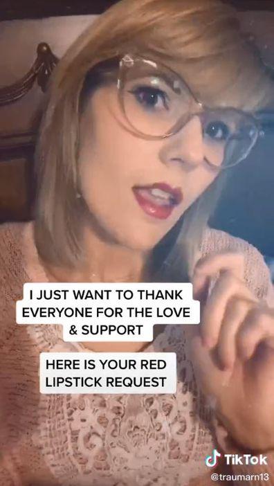 Taylor Swift, TikTok, lookalike