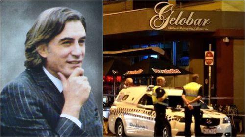 Mr Acquaro's body was found outside his ice-cream shop in 2016.