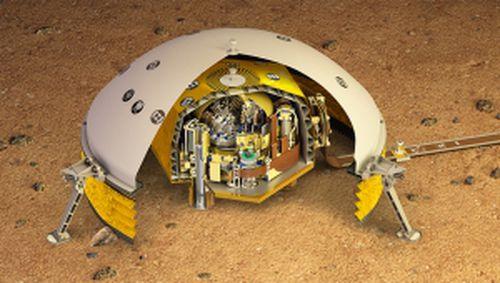 Mars insides