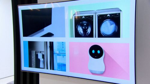 Smart home appliances are able to communicate.